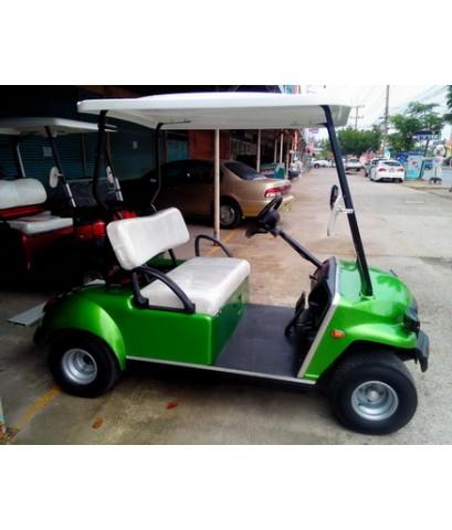 รถกอล์ฟไฟฟ้าโซล่าเซลล์ CARIO 2-4 ที่นั่ง ปี 2009 สีเขียว