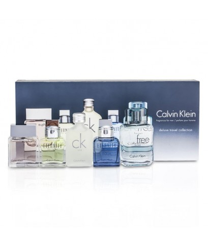 Calvin Klein Deluxe Travel Collection Men's Miniature Coffret 5Pcs หัวแต้ม