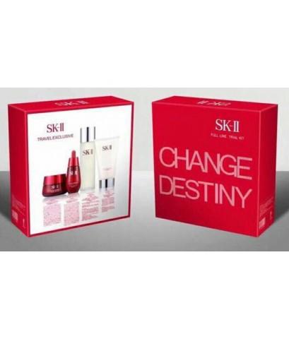 sk-ii change destiny set เซตบำรุงตัวใหม่ 4 ชิ้น เพื่อความกระจ่างใส