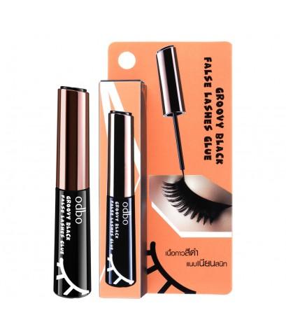 ODBO groovy black false lashes glue กาวติดขนตาปลอม เนื้อสีดำสนิท