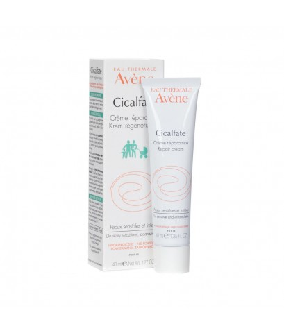 AVENE Cicalfate Repair Cream 40ml. แพ็กเกจใหม่ ครีมซ่อมแซมผิว cicalfate เหมาะกับผิวบอบบาง แพ้ง่าย