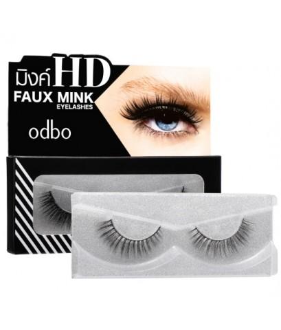 ODBO Faux mink HD eyelashes od851 ผลิตจากขนมิ้งค์เทียม ให้ขนตาเรียงเส้นสวย แลดูเป็นธรรมชาติ