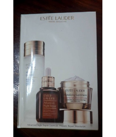 Estee Lauder Advanced Night Repair Essentials Moisturise Travel 3pcs Set ชุดของขวัญ 3 ชิ้น