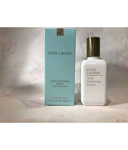 Estee Lauder Swiss Performing Extract For Dry and Normal/Combination Skinบำรุงผิวหน้าเนื้อโลชั่น