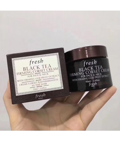 Fresh Black Tea Firming Corset Cream Black Tea Firming Corset Cream50g.ครีมชาดำผสมโกจิ ยกกระชับผิว