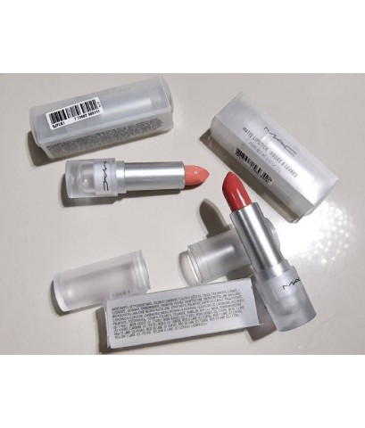 MAC LIPSTICK / LOUD AND CLEAR ลิปสติกเฉดสีลิมิเต็ด เอดิชั่น แท่งใส มี 5 สีสันให้เลือก