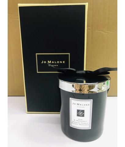 JO MALONE LONDON Oud  Bergamot  Home Candle 200G. เทียนหอมในโหลแก้วสวยเรียบหรู (มีถุงแถม)