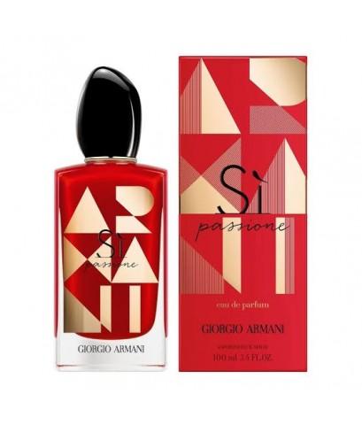 น้ำหอมกลิ่นใหม่ GIORGIO ARMANI SI PASSIONE Limited edition FOR WOMEN EDP 100 ml.ขวดแดงลายทอง