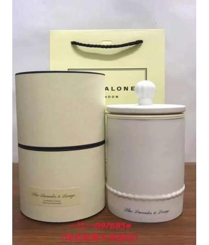 JO MALONE LONDON Lilac Lavender  Lovage Home Candle Limited Edition 300G  เทียนหอมในโหลสวยเรียบหรู