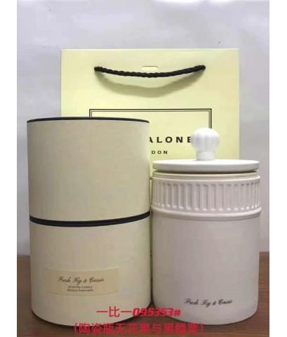 JO MALONE LONDON  Fresh Fig  Cassis Home Candle Limited Edition ขนาด 300 G.เทียนหอมในโหลสวยเรียบหรู