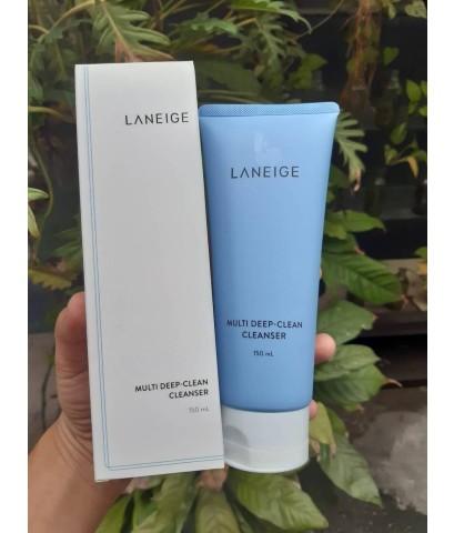 Laneige Multi Deep-Clean Cleanser 150ml.โฟมทำความสะอาดล้ำลึก เหมาะกับสาวผิวผสมและผิวมัน