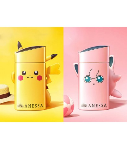 Shiseido Anessa Perfect UV Sunscreen Skincare milk SPF50+PA++++ ขนาด 60ml. แพคเกจลาย pokemon