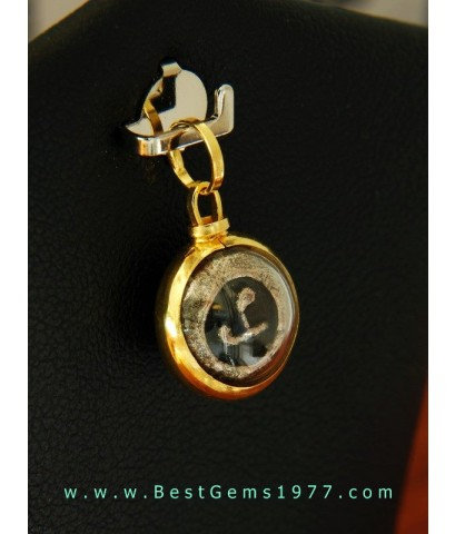 PBE011ND หัวนะโมเลี่ยมทองแท้ วัดพระมหาธาตุ จ.นครศรีธรรมราช ปี 2525