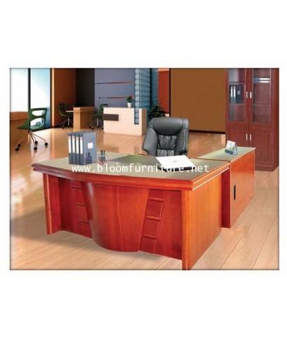 Stone ชุดโต๊ะผู้บริหารตัวแอล มีให้เลือกถึง 2 ขนาด 1.6 และ  1.8  เมตร