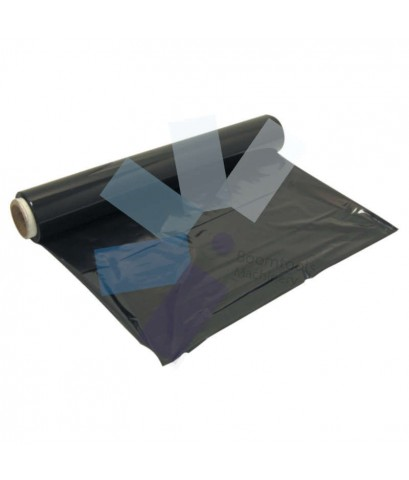 Avon.Stretch Wrap Roll - 400mm x 300M - 25 Micron - Extended Core Black