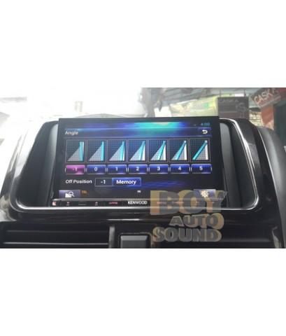 TOYOTA YARIS2013-2014 โฉมใหม่ ไฉไลด้วยชุดเครื่องเสียงรถยนต์ KENWOOD DNR8035BT รุ่นเชื่อมต่อ wifi