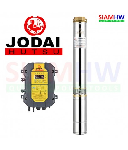 JODAI 4LSC13.0/45-96/750 ปั๊มน้ำบาดาล DC 96V 750W (3แผง) 13.0Q/H บ่อ4 น้ำออก2นิ้ว H.Max 45m