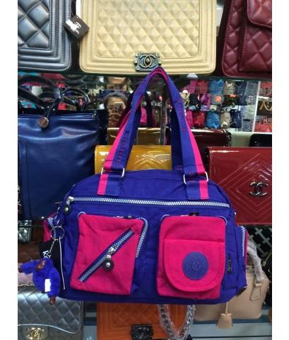 กระเป๋า Kipling ทูโทน 2 กระเป๋าหน้า