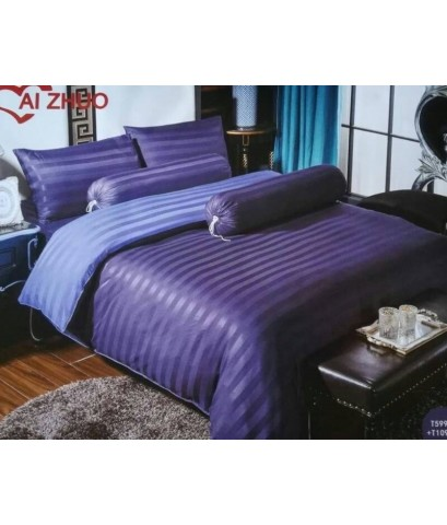 Set ผ้าปูที่นอนลายริ้ว
