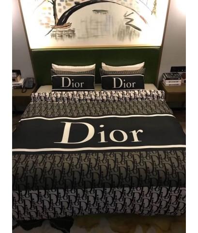 Set ผ้าปูที่นอนลาย DIOR