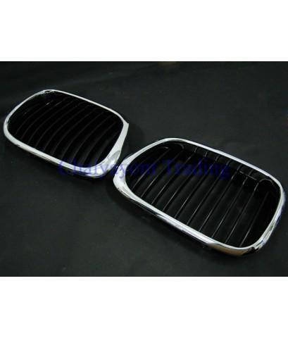 อะไหล่รถยนต์กระจังหน้ารถบีเอ็ม BMW E39 ซีรีย์ 5 520d 520i 523i 525d 525i 528i 530d 530i 535i 540i