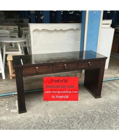 โต๊ะเพ้นเล็บสไตล์วินเทจ  ราคาถูกจากโรงงาน