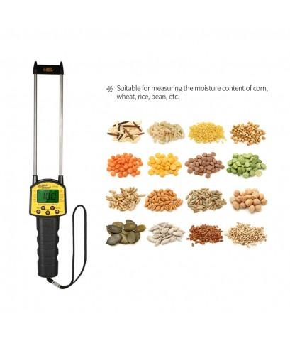 เครื่องวัดความชื้นข้าว ธัญพืช ข้าวโพด ถั่ว มันสำปะหลัง เมล็ดพืช กระดาษ