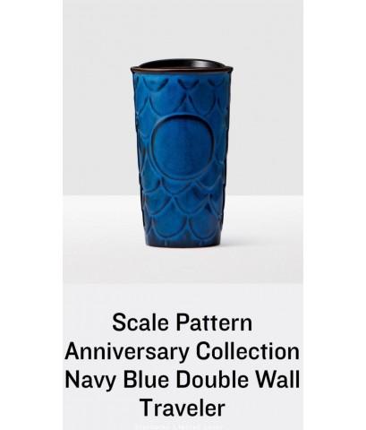 แก้วสตาร์บัคส์สุดClassic  Starbucks USA Anniversary Siren ลดทันที300บ แก้วเก็บร้อนลวดลายเกล็ดเงือก