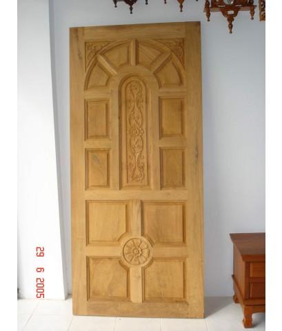 บานประตูไม้สัก (8004)
