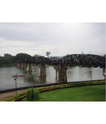 กาญจนบุรี, ขี่ช้าง ล่องแพ