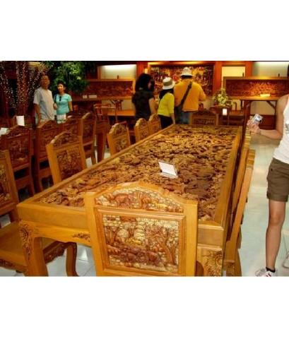 ตลาดน้ำดำเนินสะดวก และกาญจนบุรี (เต็มวัน)
