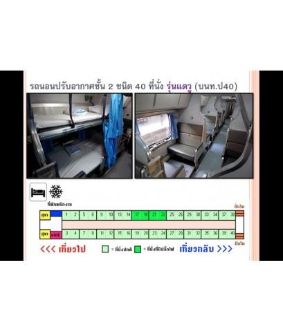 ตั๋วรถไฟจากอยุธยา ไปเชียงใหม่