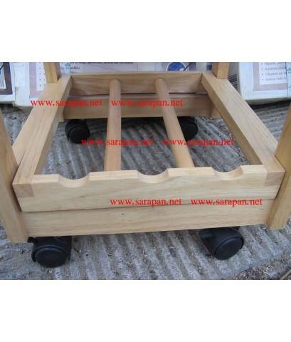 โต๊ะ MINI BAR ไม้ยางพารา ผลิตในประเทศส่งออกไป เยอรมัน
