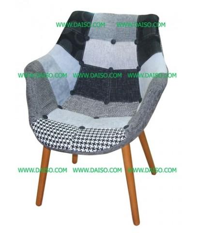 เก้าอี้สไตล์เรโทร/เก้าอี้นำเข้า/เก้าอี้เบาะผ้า_รุ่นCD-309