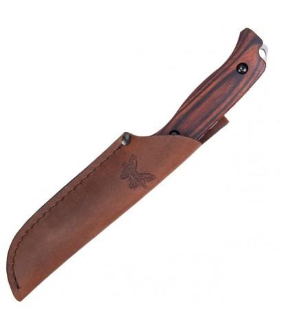 มีดใบตาย Benchmade Hunt Saddle Mountain Skinner Fixed S30V Blade, Dymondwood Handles (15001-2)