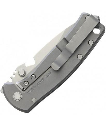 มีดพับ DPx Gear HEST/F Urban Titanium Folding Knife S35VN Blade, Titanium Handles (DPHSF028)
