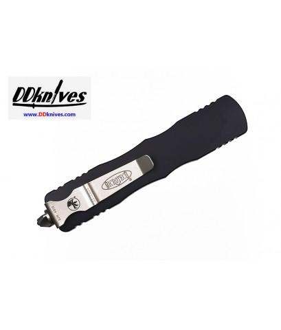 มีดออโต้ Microtech Dirac D/E OTF Automatic Knife Black Blade, Black Handles (225-1)