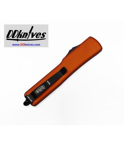 มีดออโต้ Microtech UTX-70 D/E OTF Automatic Knife Black Blade, Orange Handles (147-1OR)