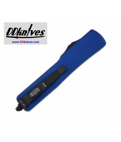 มีดออโต้ Microtech UTX-70 S/E OTF Automatic Knife Black Blade, Blue Handles (148-1BL)