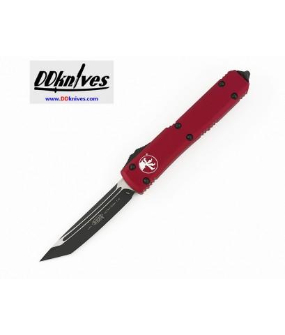 มีดออโต้ Microtech Ultratech T/E OTF Automatic Knife Black Blade, Red Handles (123-1RD)