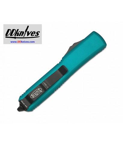 มีดออโต้ Microtech Ultratech T/E OTF Auto Knife Tactical Black Blade, Turquoise Handles (123-1TQ)