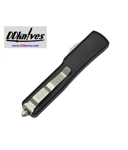 มีดออโต้ Microtech UTX-70 D/E OTF Automatic Knife Stonewash Blade, Black Handles (147-12)