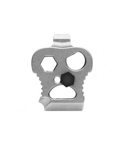มีดพับ DPX HEST/F CLASSIC D2 Tool Steel Blade, OD Green G10 and Titanium Handles (DPHSF008)