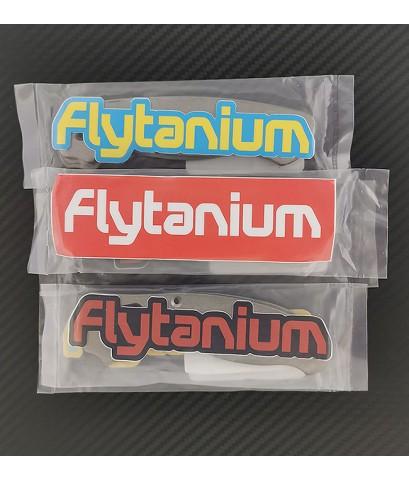 ด้ามแต่งไทเทเนียม Flytanium สำหรับมีดพับ Spyderco Smock