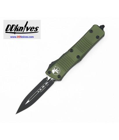 มีดออโต้ Microtech Troodon D/E OTF Automatic Knife Black Blade, OD Green Handles (138-1OD)