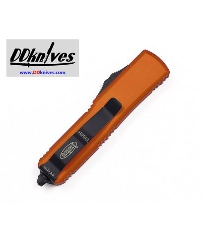 มีดออโต้ Microtech UTX-85 S/E OTF Automatic Knife Black Blade, Orange Handels (231-1OR)