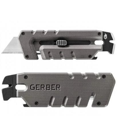 Gerber Prybrid Utility Multi-Function Tool, Replaceable Razor Blade, Gray G10 Handles (31-003745)