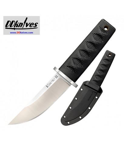มีดใบตาย Cold Steel Kyoto II Fixed Blade Reinforced Point, Kray-Ex Handle, Secure-Ex Sheath (17DB)