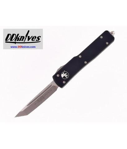 มีดออโต้ Microtech UTX-70 T/E OTF Automatic Knife Satin Blade, Black Handles (149-4)