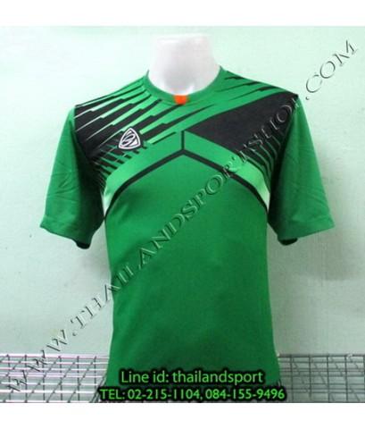 เสื้อกีฬา อีโก้ EGO SPORT รหัส EG-5105 (สีเขียว G) พิมพ์ลาย